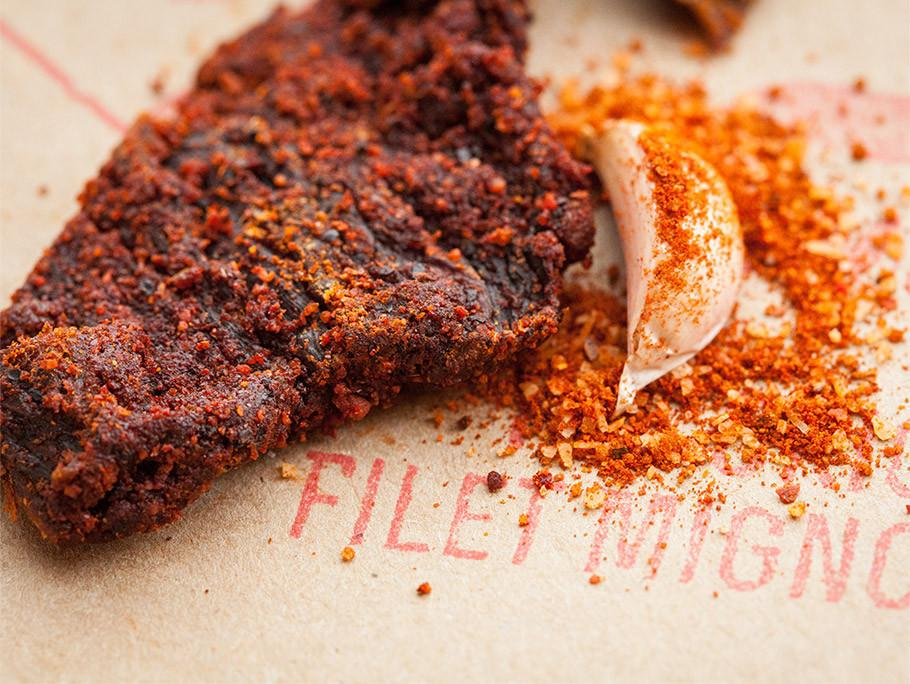 Alternative Image of Filet Mignon Memphis BBQ Jerky - Spicy & Savory