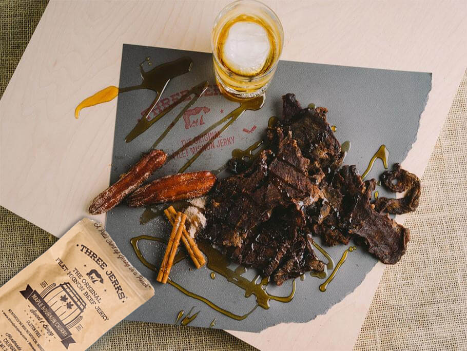 Alternative Image of Filet Mignon Maple Bourbon Jerky - Sweet & Boozy