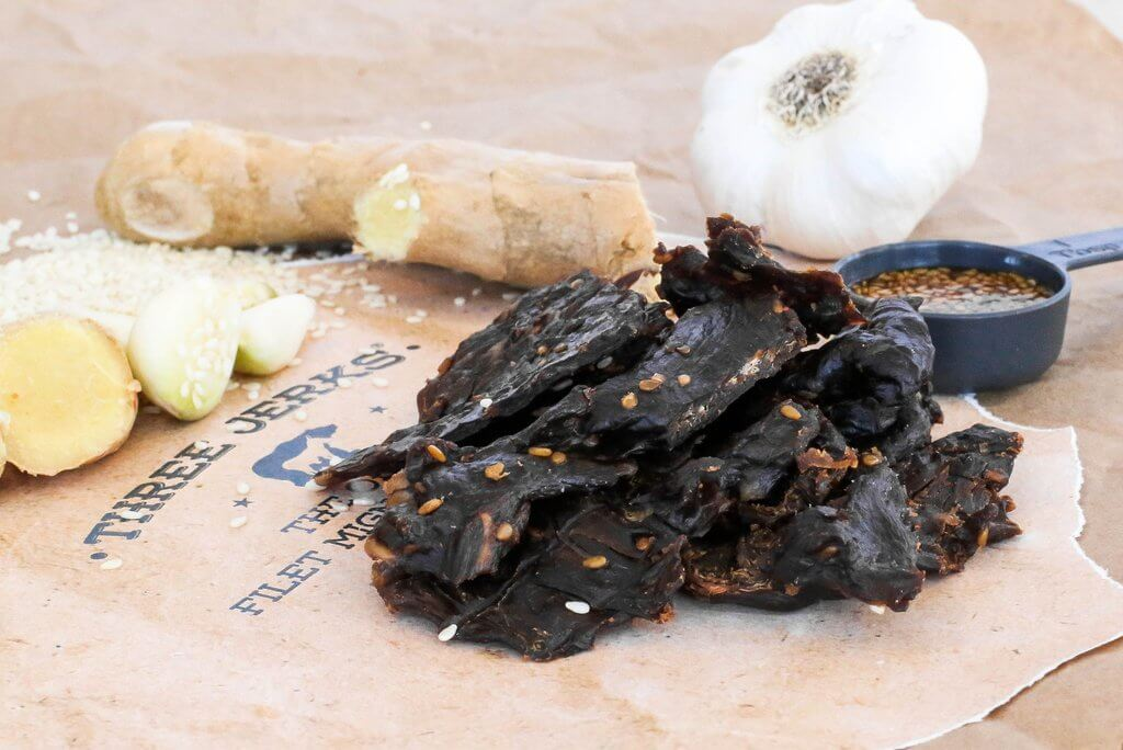 Alternative Image of Filet Mignon Beef Jerky - Veri Veri Teriyaki