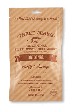 Filet Mignon Original Jerky - Beefy & Savory - Click for More Information