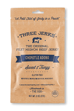 Filet Mignon Chipotle Adobo Jerky - Sweet & Tangy - Click for More Information