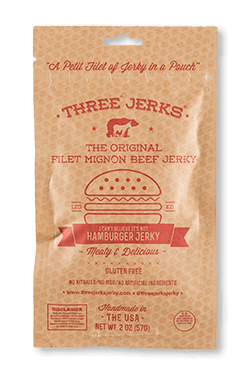Image of Filet Mignon Hamburger Jerky - Beefy & Delicious Package