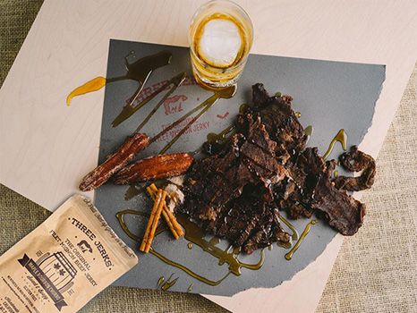 Image of Filet Mignon Maple Bourbon Jerky - Sweet & Boozy Package