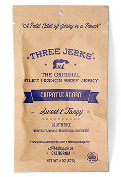 Image of Filet Mignon Chipotle Adobo Jerky - Sweet & Tangy Package