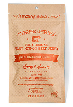 Image of Filet Mignon Memphis BBQ Jerky - Spicy & Savory Package