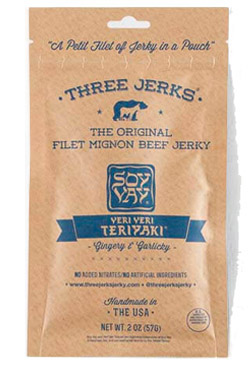Image of Filet Mignon Beef Jerky - Veri Veri Teriyaki Package